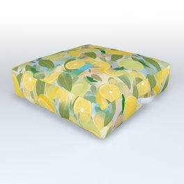 Lemon Song Outdoor Floor Cushion