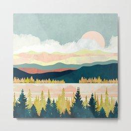 Lake Forest Metal Print