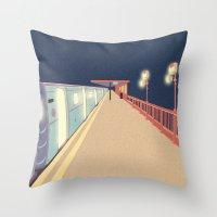 infinity Throw Pillows featuring Infinity by Fernanda Schallen