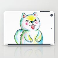 puppy iPad Cases featuring Puppy by Suvi Kari