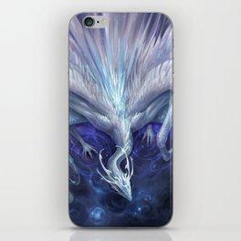White Crystal Dragon iPhone Skin