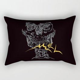 Mel Broken Skull Rectangular Pillow