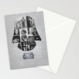 A New Hope COLLAGE variation Stationery Cards