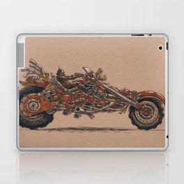 Purrs Like Leather Laptop & iPad Skin