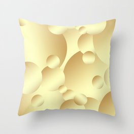 Gold! Throw Pillow