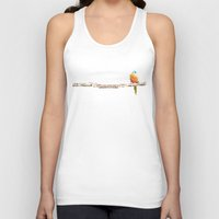 birdy Tank Tops featuring Birdy by Merchant Clothing