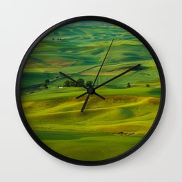 The Palouse Wall Clock
