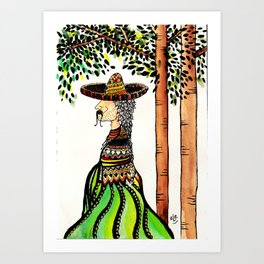 The mexican Art Print