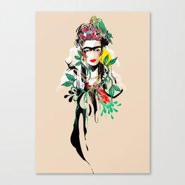 The Art of Frida Kahlo Canvas Print