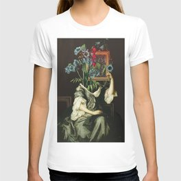 Florales Portrait Disaster T-shirt
