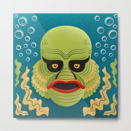 The Creature Metal Print