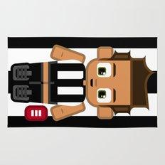 Super cute sports stars - Black and White Aussie Footy Rug