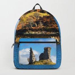 Castle Moil, Kyleakin. Backpack