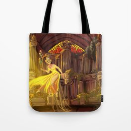Angel of the Choir Tote Bag