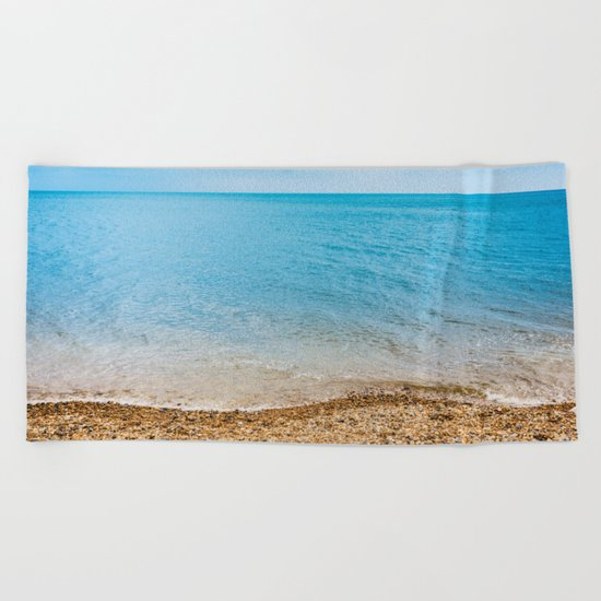 As Free As The Ocean Beach Towel