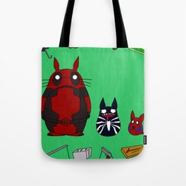 My Neighbor Deadpool Tote Bag