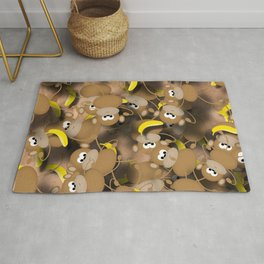 Monkeys And Bananas Rug