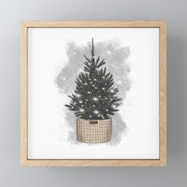 Christmas Tree Framed Mini Art Print