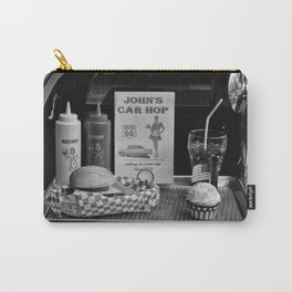 1950's Drive-in Carry-All Pouch