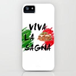 VIVA LA VIDA VIVA LA SAGNA iPhone Case