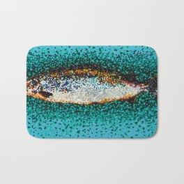 Color Blind Salmon Bath Mat