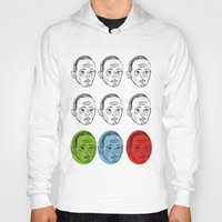 talking heads Hoodies featuring Heads by Nü Köza
