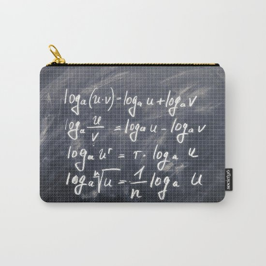 logarithm Carry-All Pouch