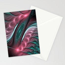 design on black -102- Stationery Cards