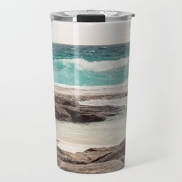 Watching the Waves Roll In Travel Mug