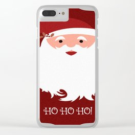 HO HO HO! Clear iPhone Case