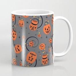 Halloween Magic- Grey Coffee Mug