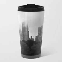 fog in city... Travel Mug