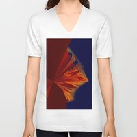arrow V-neck T-shirts featuring arrow by donphil