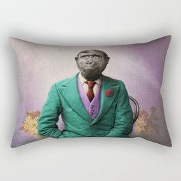 Bradley was a Young Gorilla with BIG Dreams Rectangular Pillow