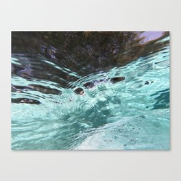 Underwater Abstraction 2 Canvas Print