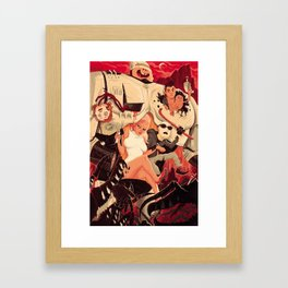 Verhoeven Framed Art Print