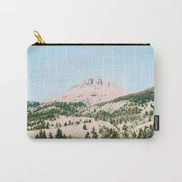Happy Mountain #society6 #decor #buyart Carry-All Pouch