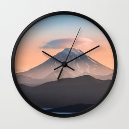 Vilyuchik volcano Wall Clock