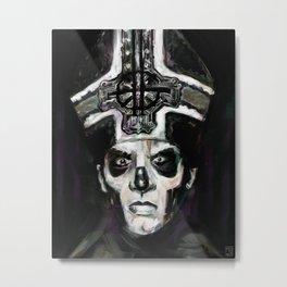 il padre Metal Print