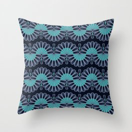 Art Deco 54 . Eastern . Throw Pillow