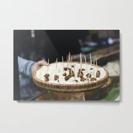 Fried cheese platter Metal Print