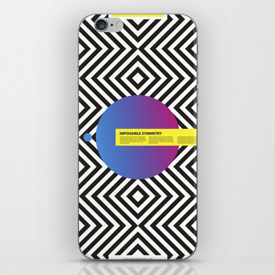 Impossible Symmetry - Circle iPhone & iPod Skin