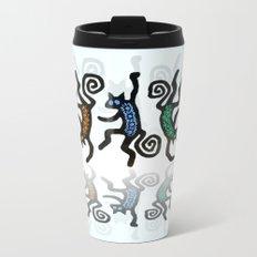 DANCING CATS LINE DANCE Metal Travel Mug