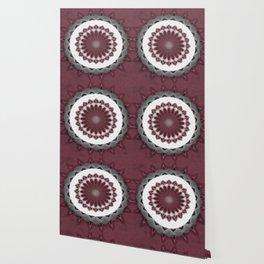 Mauve Kaleidoscope Art 1 Wallpaper