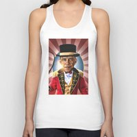 obama Tank Tops featuring OBAMA by NOXBIL