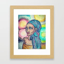 Ethiopian Queen Framed Art Print