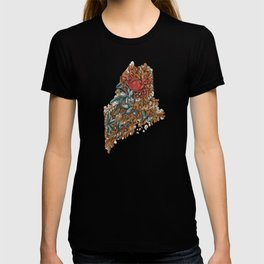 Maine (intertidal zone) T-shirt
