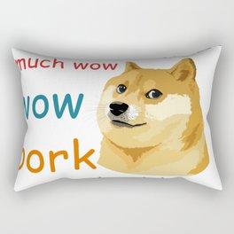Doge Meme Rectangular Pillow