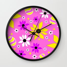 Spring Easter Eggs - Happy Easter Wall Clock