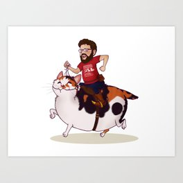 Onward, Dixie! Art Print